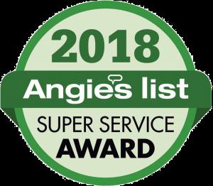 2018 Angie's List Super Service Award